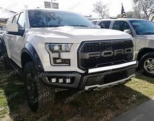 17  Ford Raptor 40 U0026quot  240w Curved Led Light Bar W   Mounts