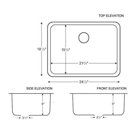 karran   stainless steel single bowl undermount sink