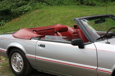 sell   ford mustang lx convertible  door   sweet valley pennsylvania united