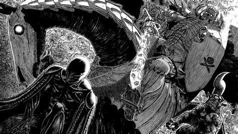 wallpaper illustration berserk kentaro miura