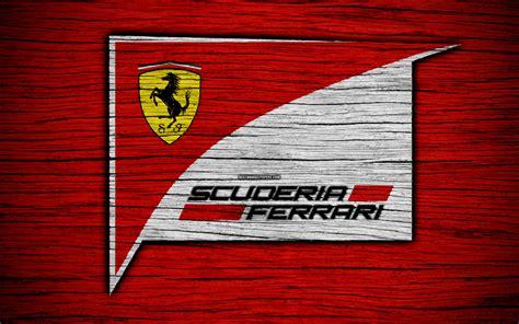 Find the best ferrari logo wallpaper on wallpapertag. Download wallpapers Scuderia Ferrari, 4k, logo, F1 teams, F1, Scuderia Ferrari flag, Formula 1 ...