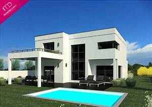 prix maison toit terrasse dcouvrez la proportion des With charming photo maison toit plat 5 photo de maison neuve toit plat