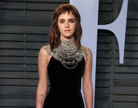 Emma Watson Debuts Time Tattoo Vanity Fair
