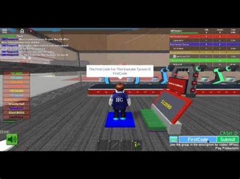 codes for tycoon roblox
