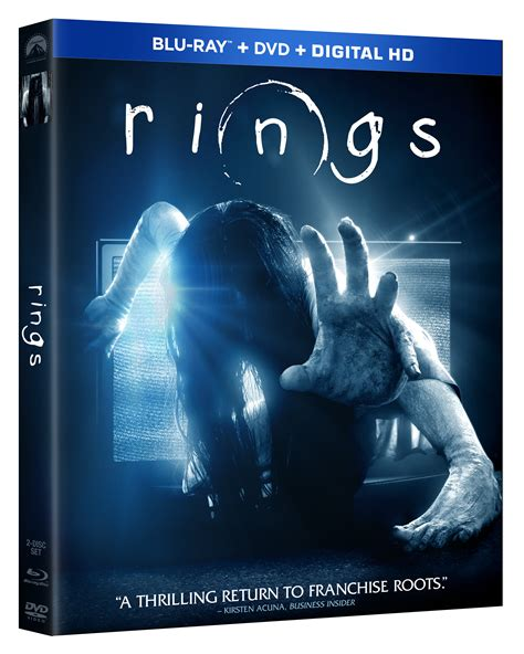 Rings On Bluraydvd Tuesday May 2, 2017 (giveaway
