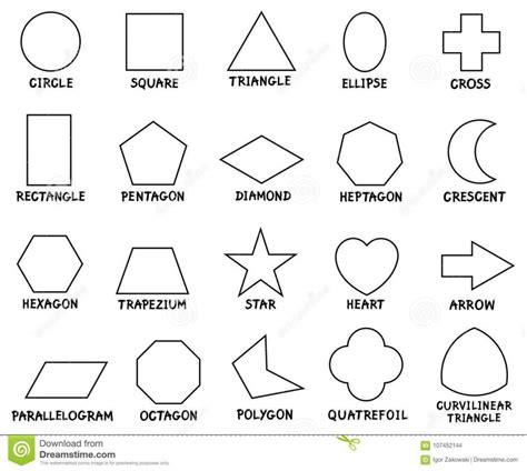 worksheet geometric shapes for worksheets math