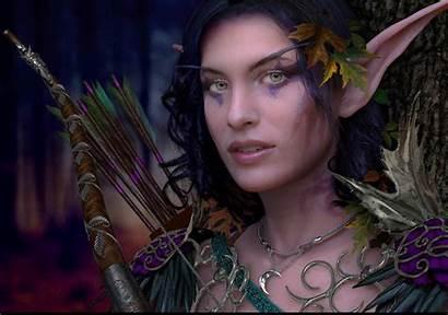 Elf Cosplay Night Female Dark Wow Warcraft
