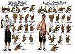 6 Point Star Gang Sign Fomc gang signs | Gang signs, Gang ...