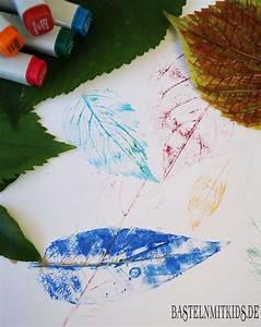 Einfache Bilder Malen : einfache bl tter bilder malen basteln mit kindern ~ Eleganceandgraceweddings.com Haus und Dekorationen