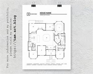 The Willow Lane House Plan  Gable Roof Option