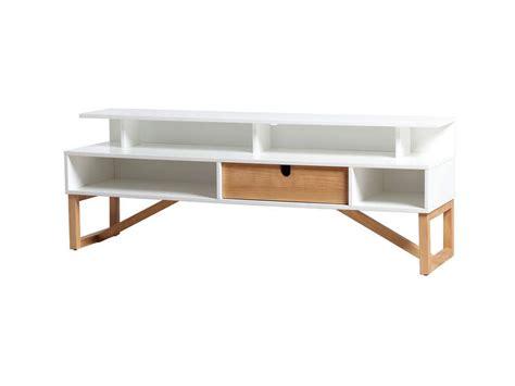 alinéa meuble meuble tv alina coloris blanc cire vente de meuble tv