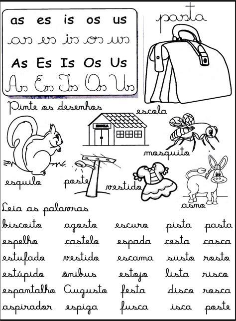 rosearts atividades para imprimir s entre vogais sons do x ss alfabetiza 231 227 o silabas