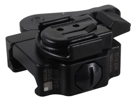 surefire helmet light rail mount american defense ad 21 mini surefire helmet light mount