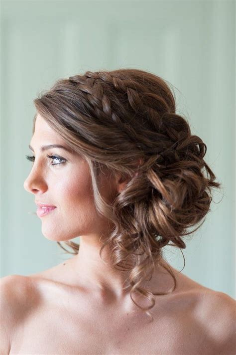 ideas  strapless dress hairstyles