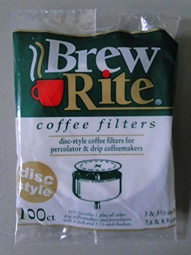 Tags:coffee brewing, coffee filters, coffee geeks, coffee science. 100ct BREW RITE coffee filters DISC STYLE percolator - made in USA by BREW RITE from Coffee ...