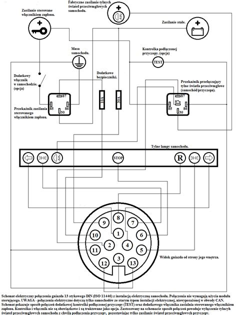 montaż 13 pin 243 w w cepce pytania strona 3 elektryka i elektronika forum karawaning pl