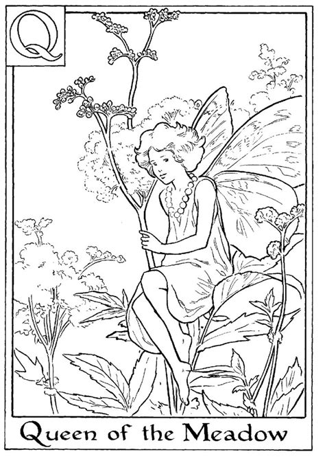 Pin on Faerie Coloring Pages