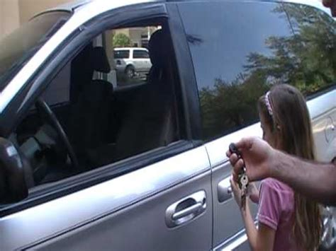 how to unlock a car door how to unlock a car door with a tennis mythbuster