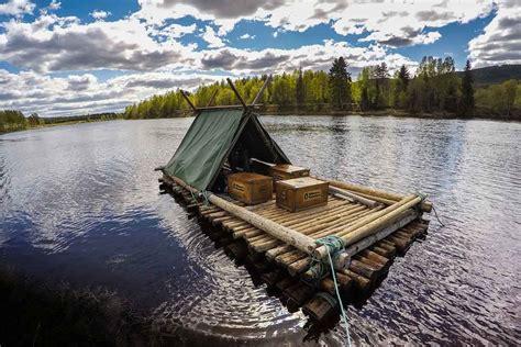 'Huck Finn' Raft Trip: 5 Days Down Swedish River