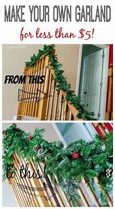 30, Diy, Christmas, Garland, Ideas, For, Inexpensive, Holiday, Decorations