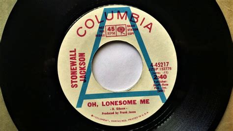 Oh Lonesome Me , Stonewall Jackson , 1970