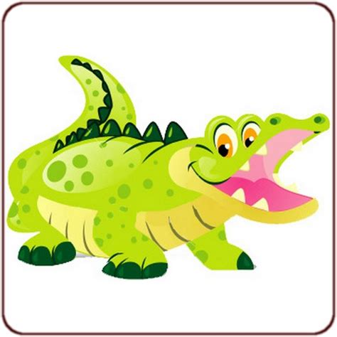 stickers savane chambre bébé stickers animaux sticker crocodile