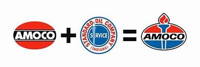Amoco Oil Standard Logos Defunct Designs Torch