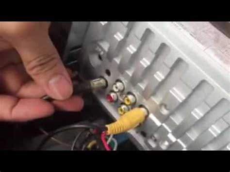 car mp player installation vedio youtube