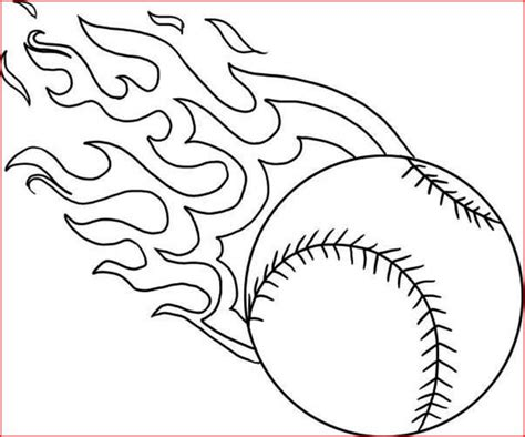 coloring pages baseball coloring pages   printable