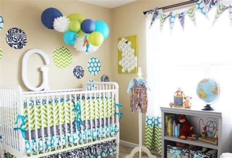 chambre enfant bleu et vert d 233 co chambre b 233 b 233 conseils pratiques et photos inspirantes