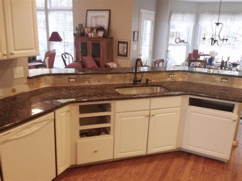brown cabinets with white countertops blue sapphire granite countertops charlotte nc