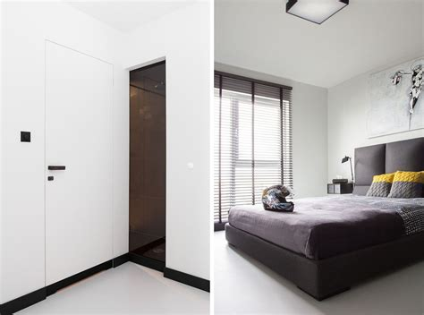 A Minimalist Modern Apartment In White by Astonishing Modern Apartment Design The Black And White