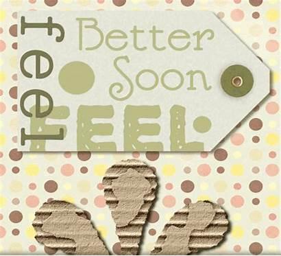 Feel Better Soon Flower Paper Message Send