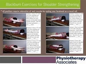 Blackburn Exercises For Shoulder Strengthening