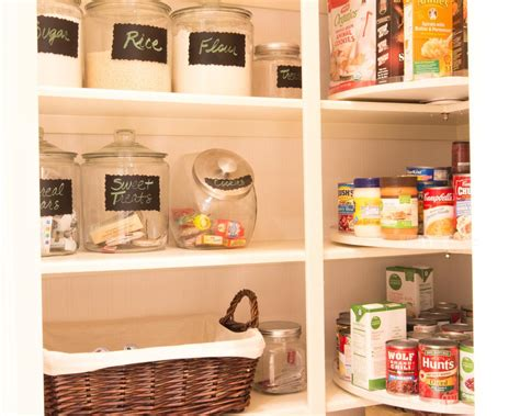 storage containers kitchen pantry pantry shelving pictures ideas tips from hgtv hgtv 5863