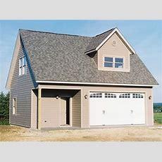 Garage Loft Plans  2car Garage Loft Plan With Workshop