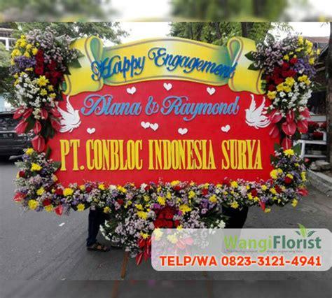 contoh papan bunga toko bunga surabaya