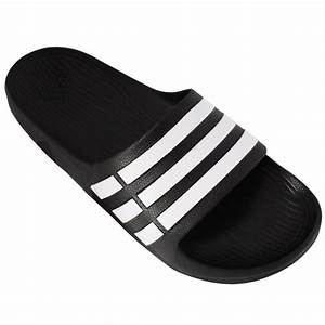 adidas Men's Duramo Slide Shoes Black