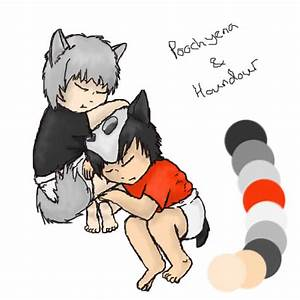Poochyena and Houndour by I-see-no-Bottle on deviantART
