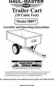 Harbor Freight 10 Cubic Ft Heavy Duty Trailer Cart Product