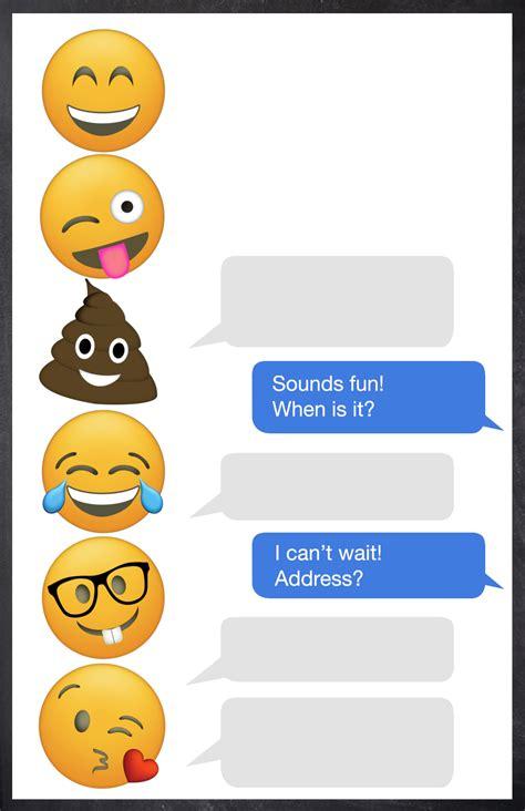 emoji invitation emoji birthday invitations free printable template paper trail design