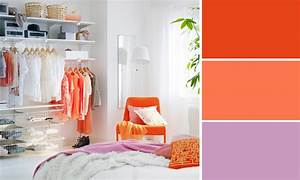 Le Mauve Se Marie Avec Quelle Couleur : quelles couleurs se marient avec le orange ~ Nature-et-papiers.com Idées de Décoration
