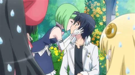 isekai wa smartphone to tomo ni episode 11 scene kiss touya youtube
