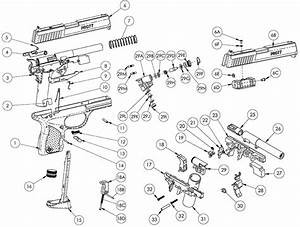 Product Schematics For Crosman Pro77 Kit