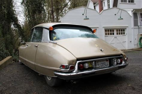 Citroen For Sale Usa by 1971 Citroen Ds 21 M Pallas 4 Speed Manual Transmission