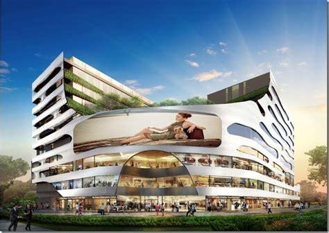 modern shopping malls google search gardens