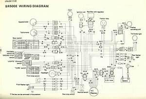 Wiring Diagram Yamaha Sr 500
