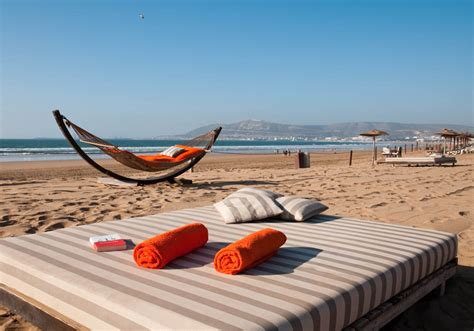 Find rest and relaxation on the beaches of Agadir
