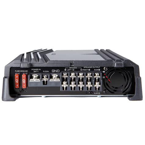 kenwood kac ps  watts max power  channel performance series car audio amplifier
