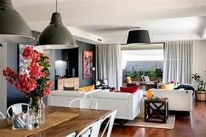 belle maison moderne a la deco eclectique en australie With la decoration de la maison